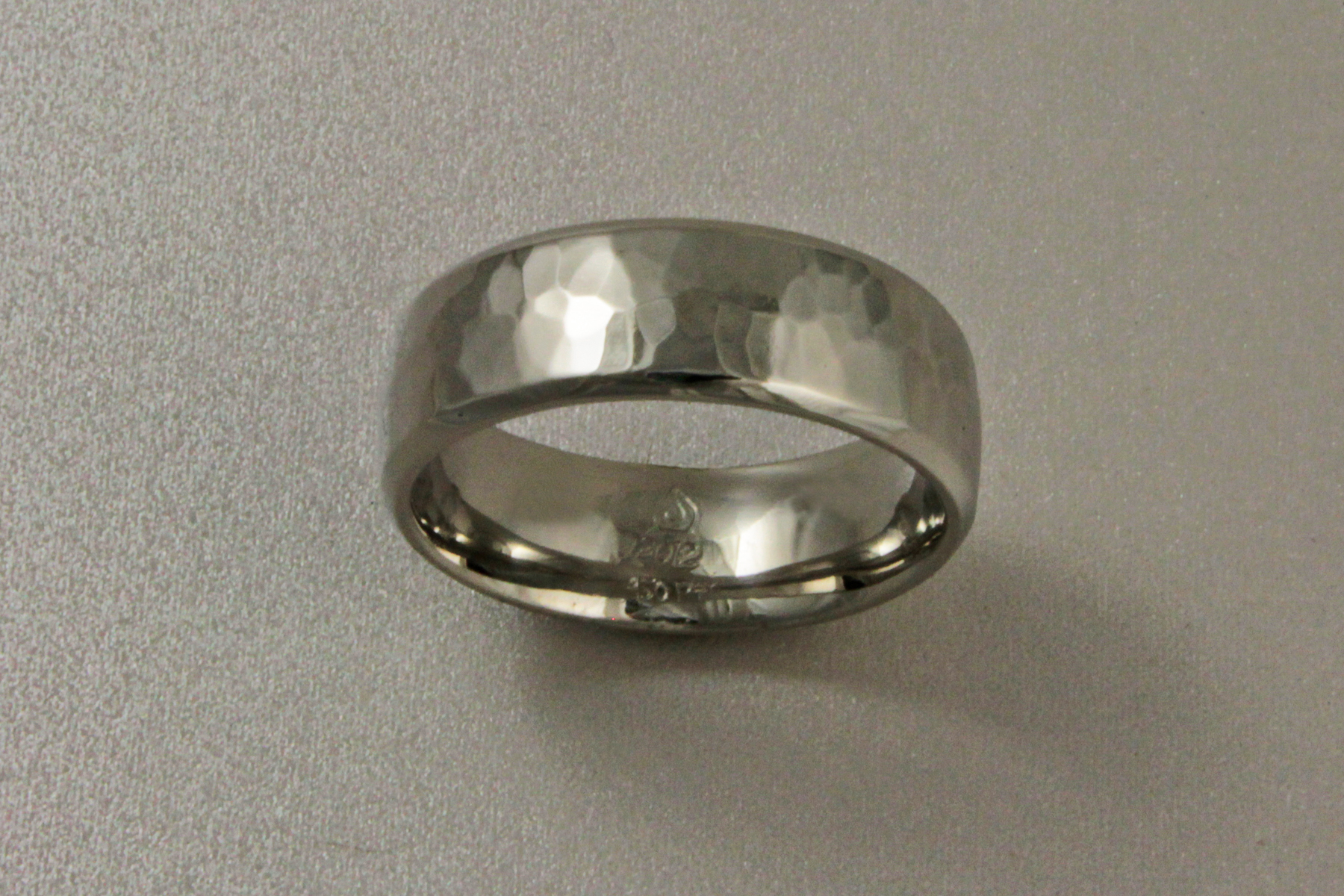 Forged Platinum Band
