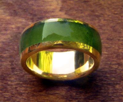 Jade Wedding Ring