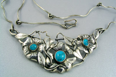 Silver and Turqouise Necklace