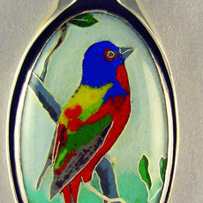 Painted Bunting I