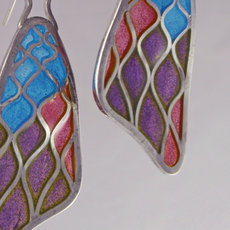 Plique a Jour Earrings
