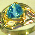 Topaz Trilliant Ring
