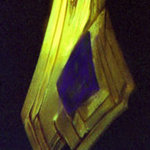 "Lapis and Gold ""Crystalline"" Pendant"
