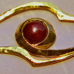 Star Ruby Brooch